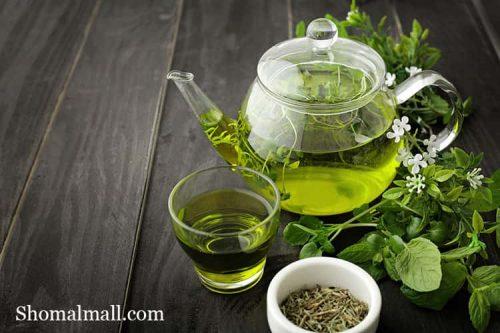 کرم پودر جویل با عصاره چای سبز