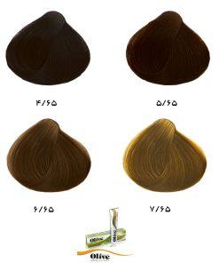 رنگ موی الیو گروه تنباکویی