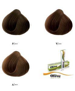 رنگ موی الیو گروه طبیعی قوی
