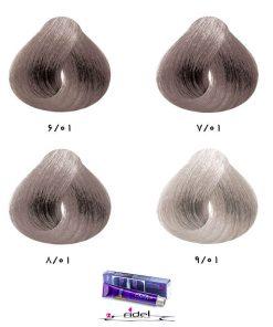 رنگ موی فیدل گروه خاکستری