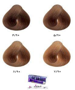 رنگ موی فیدل گروه شکلاتی