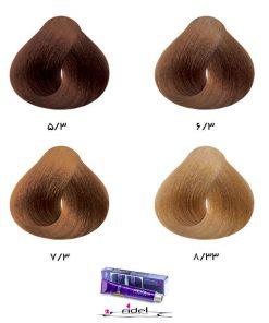 رنگ موی فیدل گروه طلایی