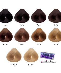 رنگ موی فیدل گروه طبیعی