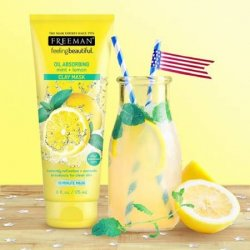 freeman-clay-mask-oil-absorbing-mint-and-lemon-www.shomalmall.com,