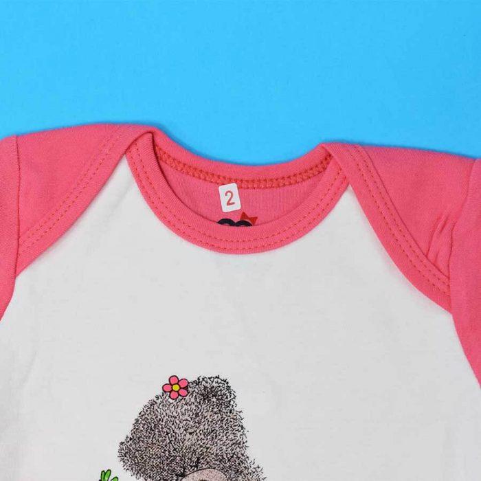 ست بلوز شلوار دخترانه آدمک خرس پشمالو