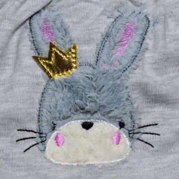 ست لباس دو تکه دخترانه باولی طرح خرگوش