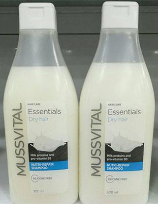 شامپو موسویتال مخصوص موهای خشک