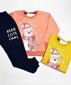 ست بلوز و شلوار خرس برفی