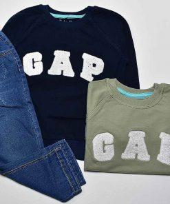 بلوز و شلوار جین طرح گپ