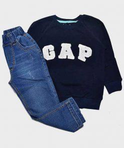بلوز و شلوار جین طرح گپ کد 2121
