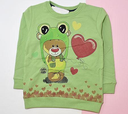 بلوز شلوار خرس قلبی کد 2146