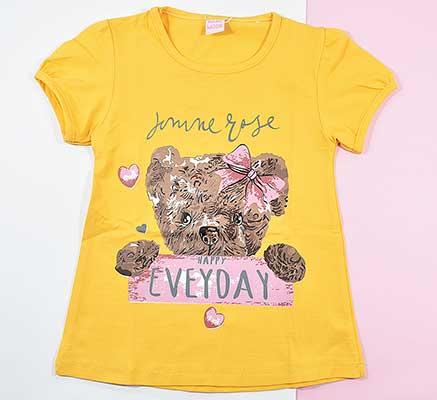 بلوز و ساق دخترانه طرح خرس کد 2151