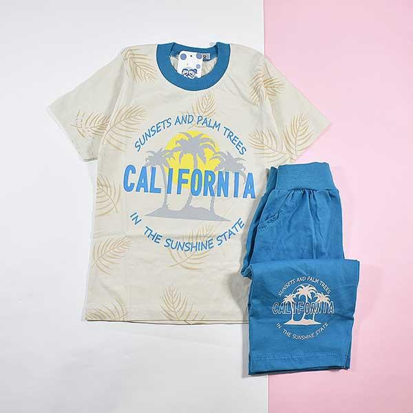 بلوز و شلوارک پسرانه کالیفرنیا کد 2173