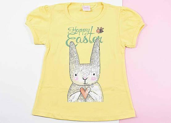 بلوز و شلوارک دخترانه طرح خرگوش کد 2149