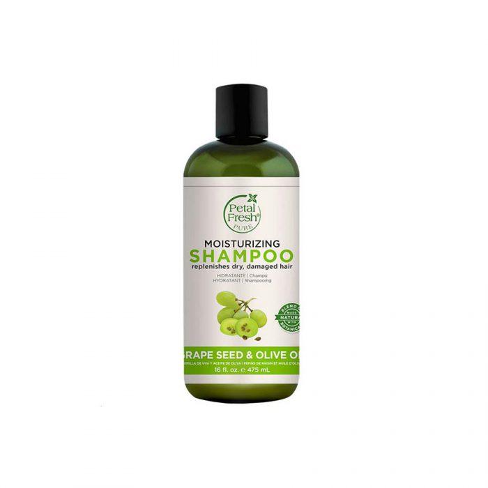 شامپو مرطوب کننده مخصوص موهای خشک پتال فرش
