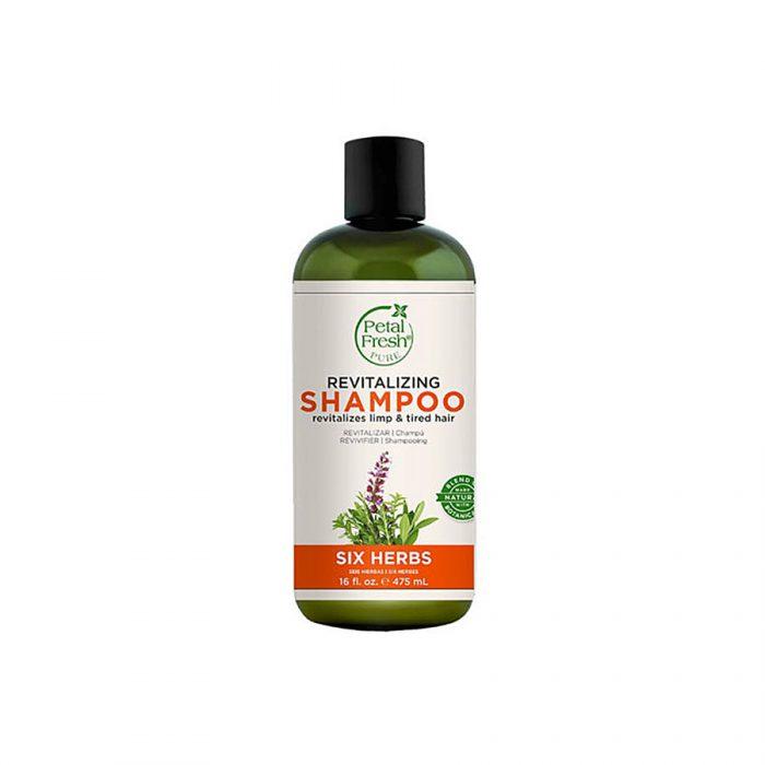 شامپو تقویت کننده شش گیاه پتال فرش