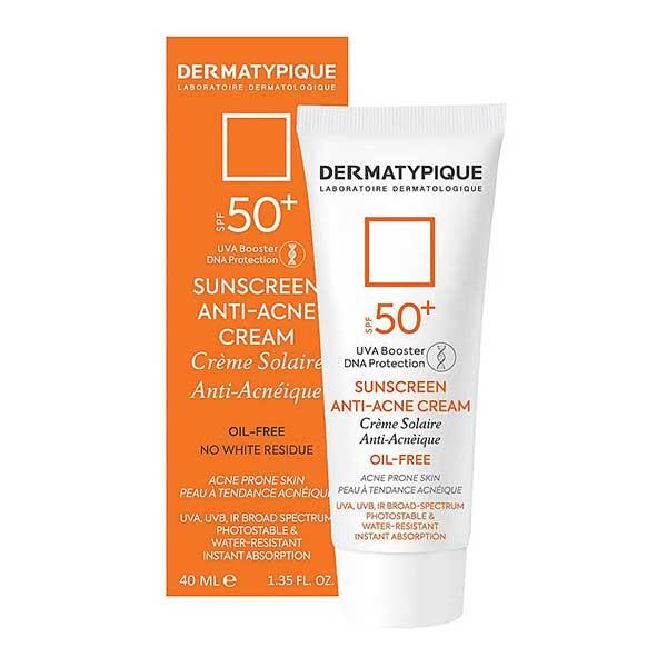 عکس جعبه ضد آفتاب ضد جوش درماتیپیک SPF50