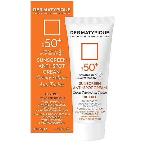 عکس جعبه کرم ضد آفتاب ضد لک درماتیپیک SPF50