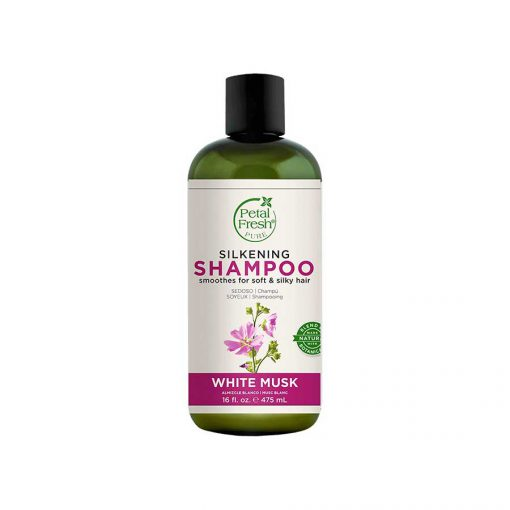شامپو مخصوص موهای چرب پتال فرش مدل white musk